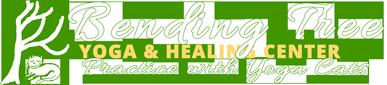 Bending Tree Yoga Healing Center – Yoga with Cats Logo